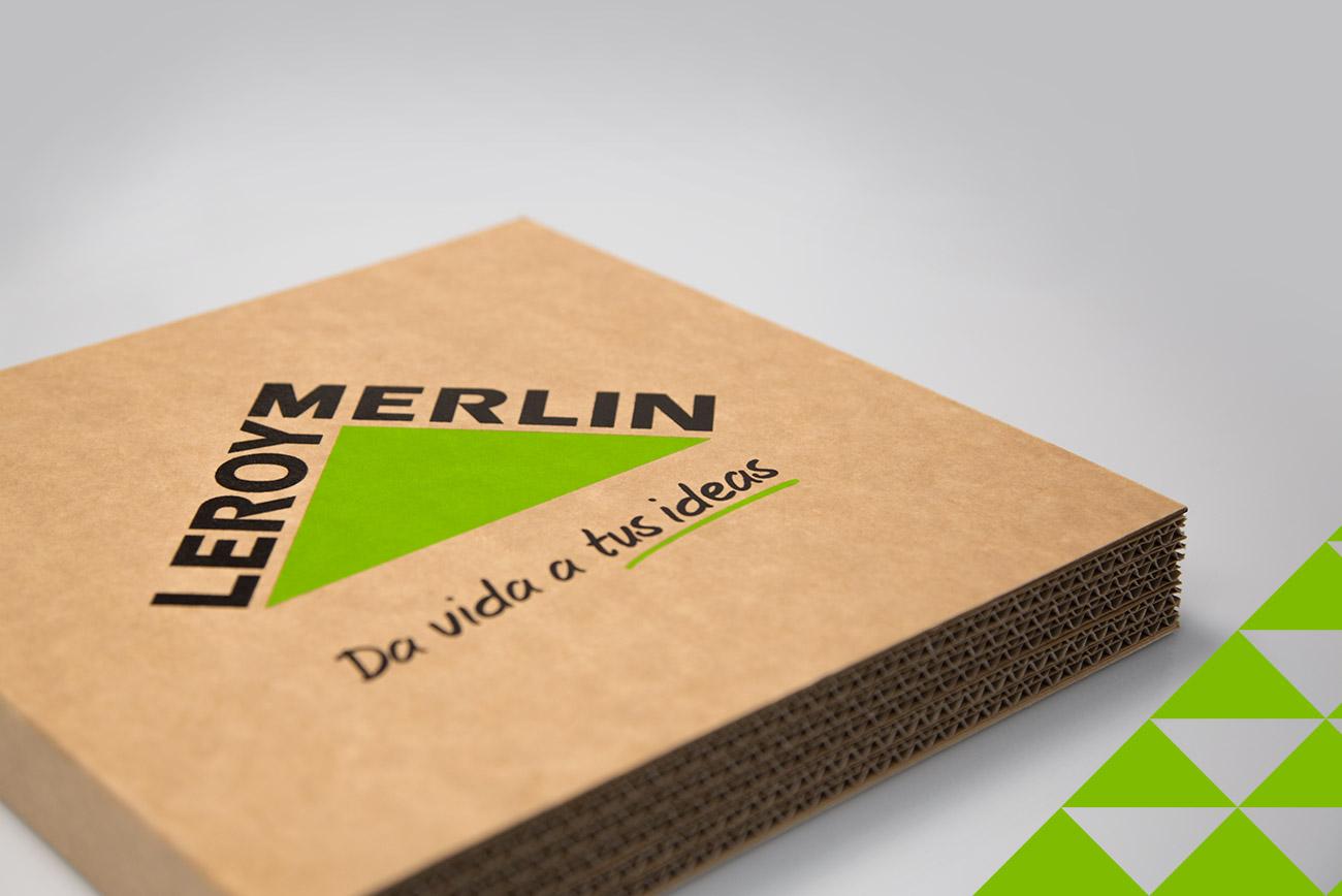 Welcome Pack para Leroy Merlin desarrollado por Ugedafita