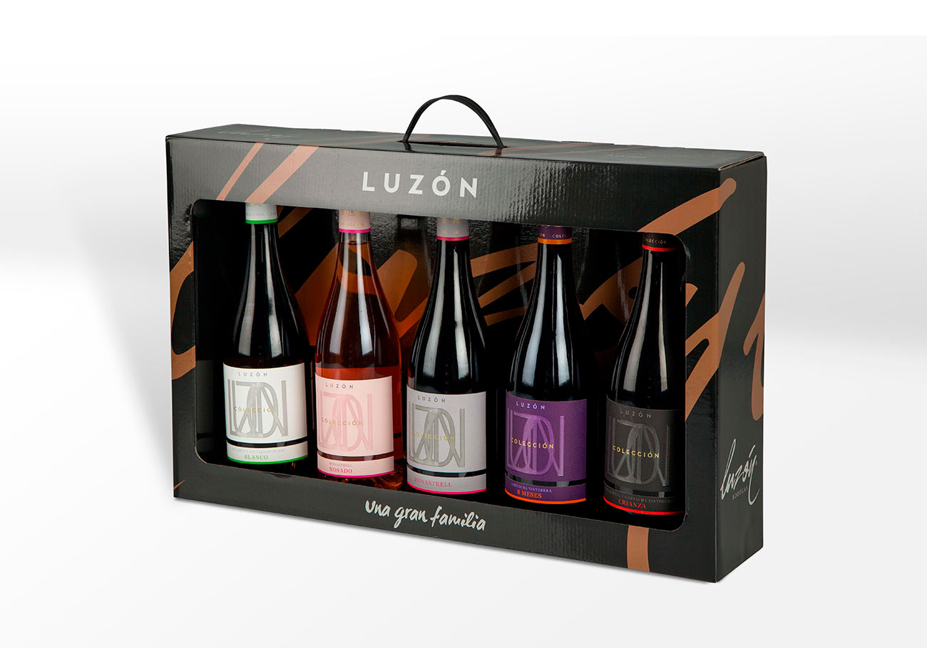 Packaging Vino – Bodegas Luzón
