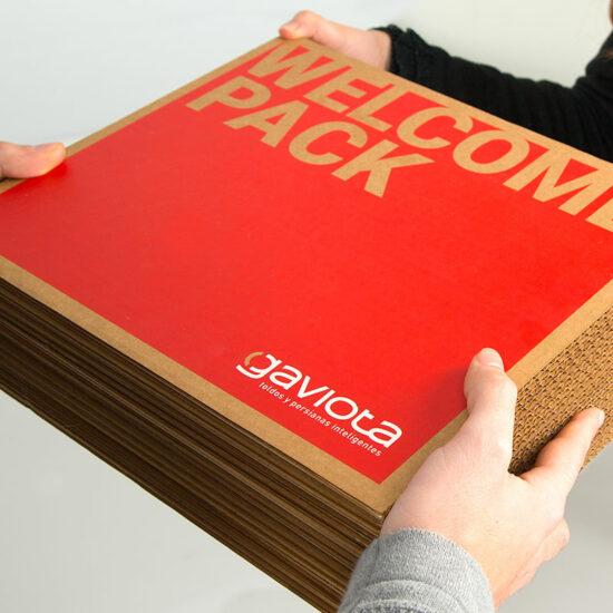 Welcome pack Gaviota