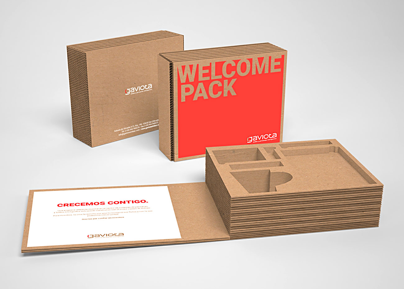 Welcome pack Gaviota