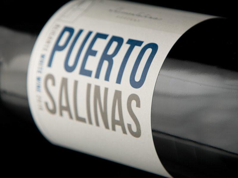 Etiqueta de vino Puerto Salinas