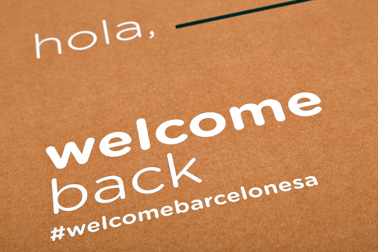 Welcome pack La Barcelonesa