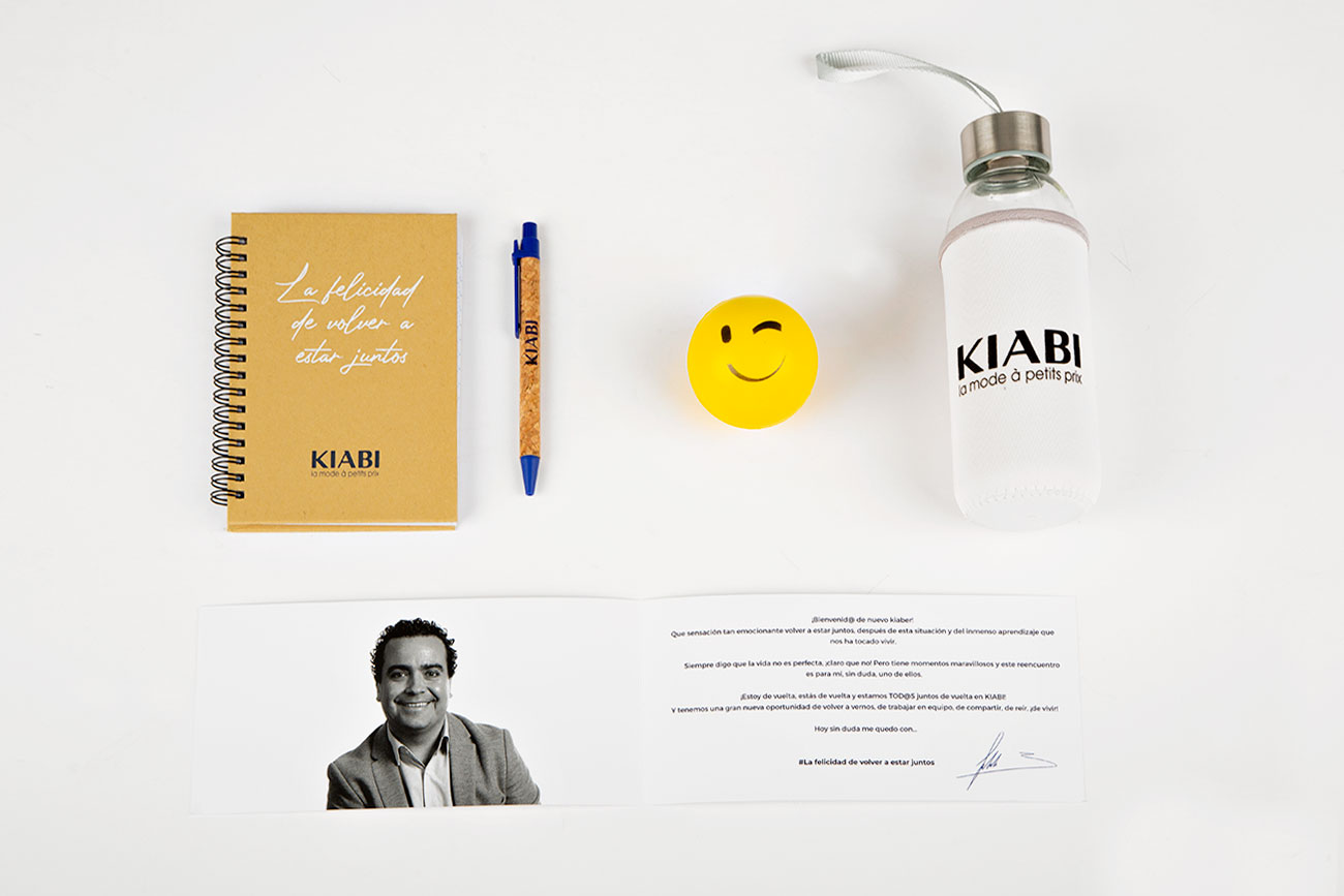 ugedafita bolsa KIABI welcome pack4