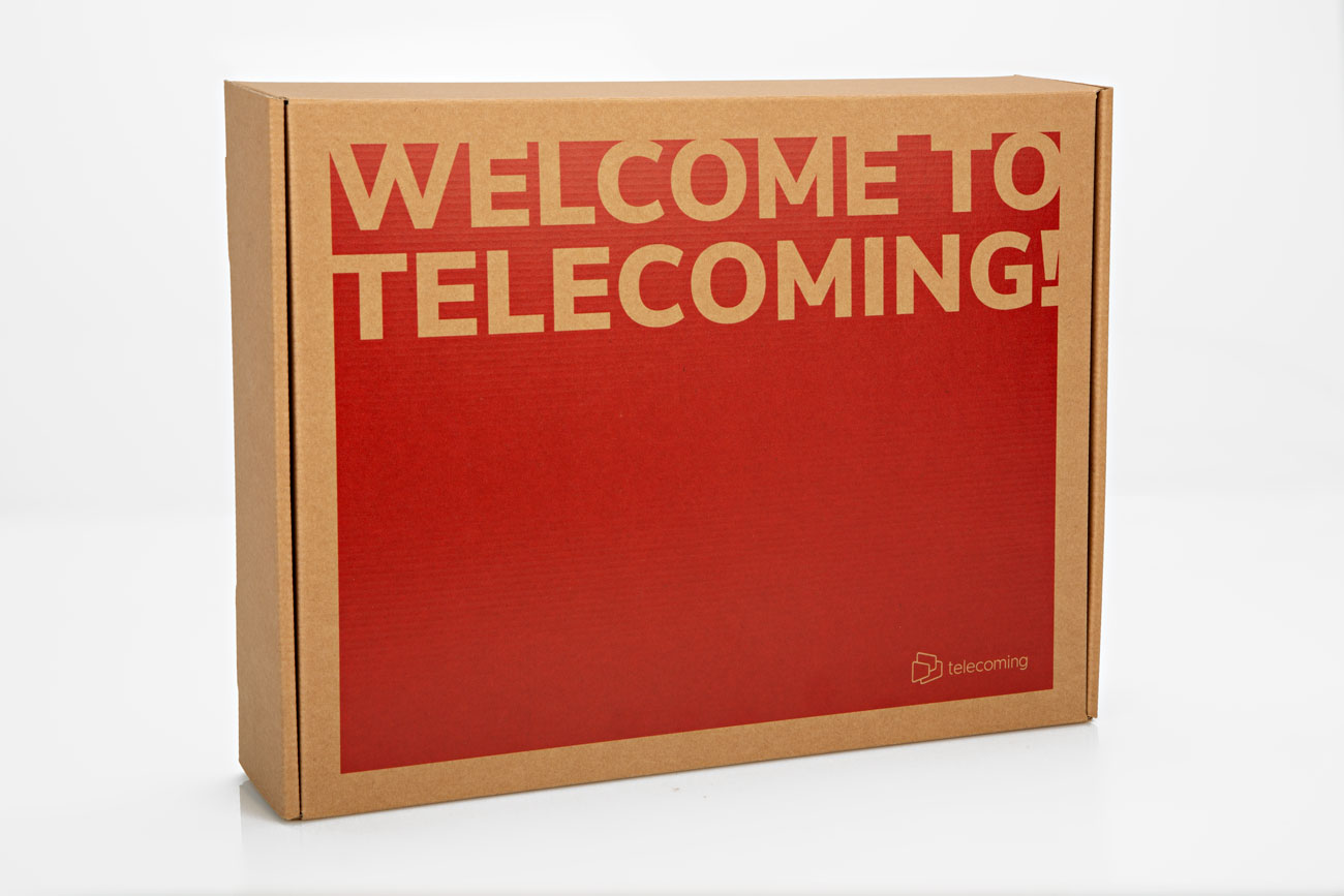 ugedafita TELECOMING welcome pack3