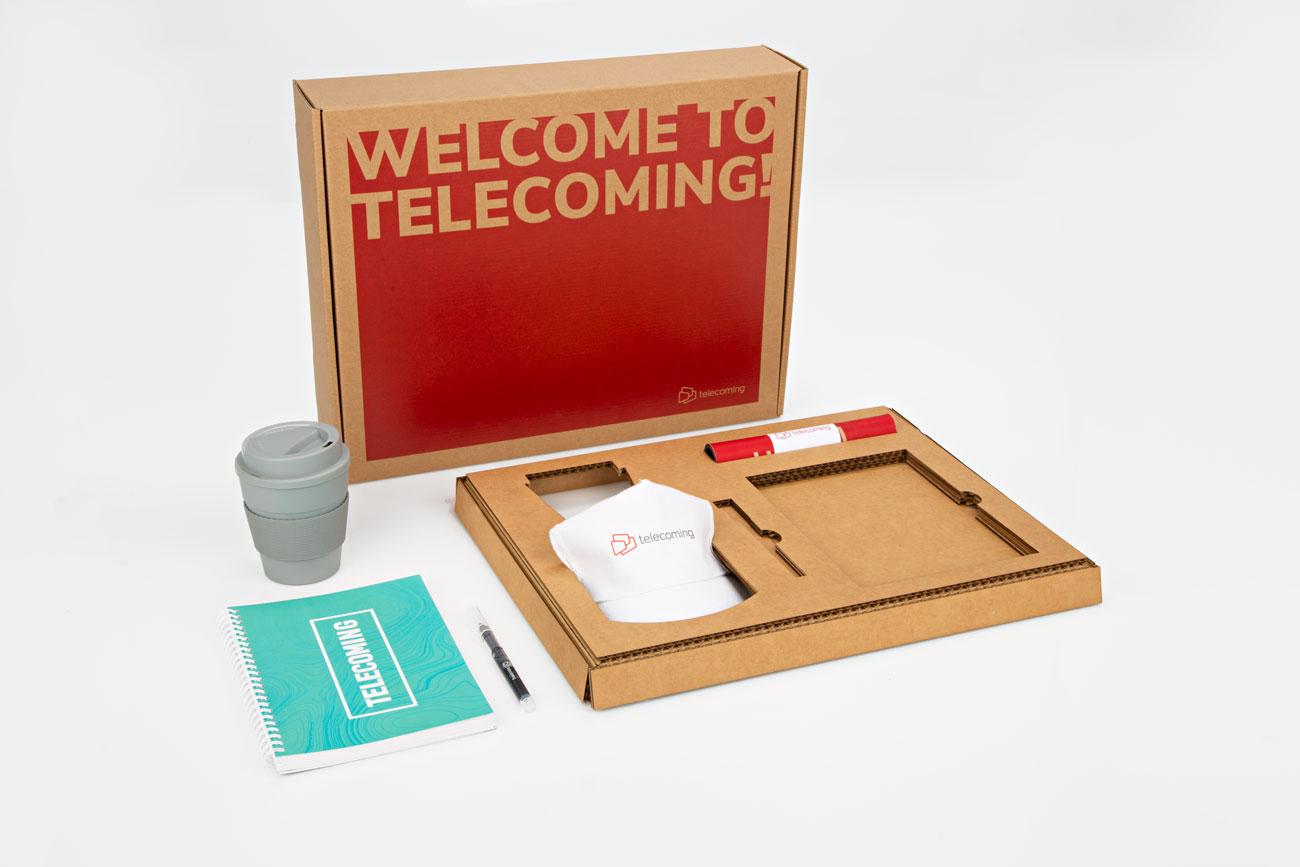 ugedafita TELECOMING welcome pack5