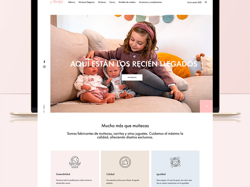 Website Cabecera